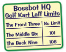 Bossbot Golf Kart Chart