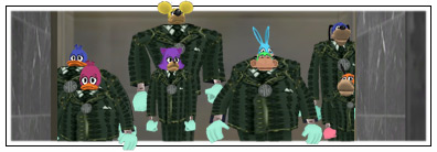 Toons in Cashbot disguises